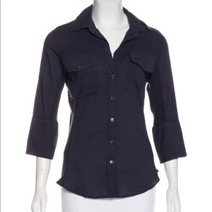 James Perse Button Up
